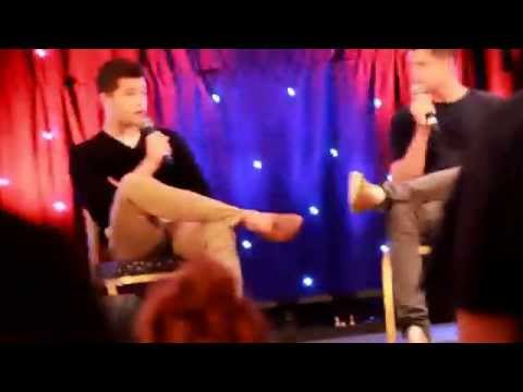 Max Carver and Charlie Carver at Wolfsbane 2
