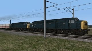 2 40s on a freightliner Shap to Preston TS 14 LOCO TV UK