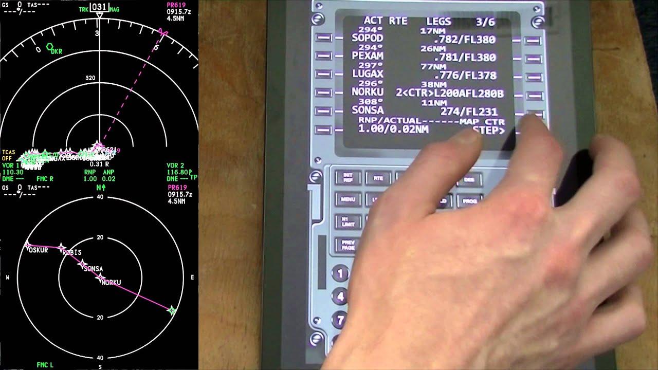 Virtual CDU 737 | AviationPro