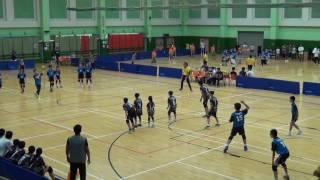 2017全港中小學學界閃避球精英賽 教大賽小VS泰伯 第一場