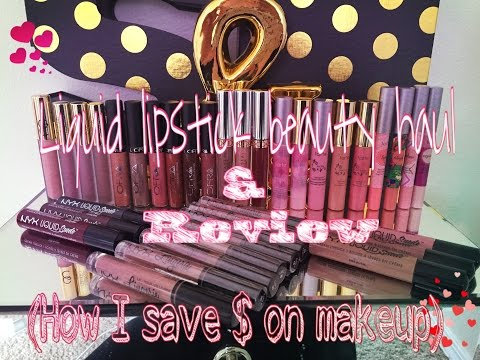 Huge Beauty Haul/How I save money on my makeup