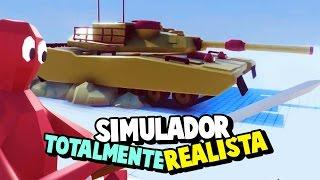 novo tanque de guerra vs dark peasent   totally accurate battle simulator