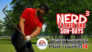 nerd³ s father and son days tiger woods pga tour 14