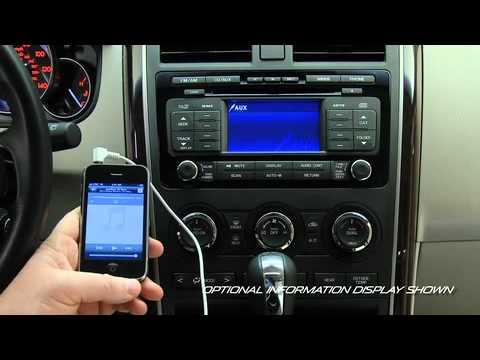 2011 2007 Mazda Cx 9 Auxiliary Audio Input Jack Tutorial