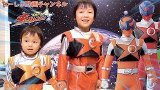 【なりきり】宇宙戦隊キュウレンジャー!シアターGロッソでフェイスペイントやヒーロー写真館 握手会へ参加して来た♪ thumbnail