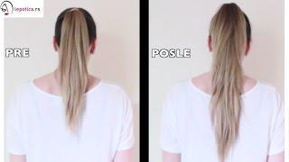 Kako da vam kosa izgleda duža za samo 2 min. thumbnail