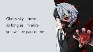 Glassy Sky Lyrics - Tokyo Ghoul OST