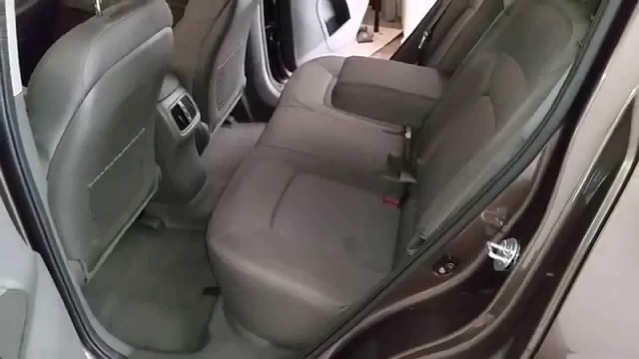 2017 Kia Sportage Suv Checking Out Rear Penger Seats Leg Room A C Vents