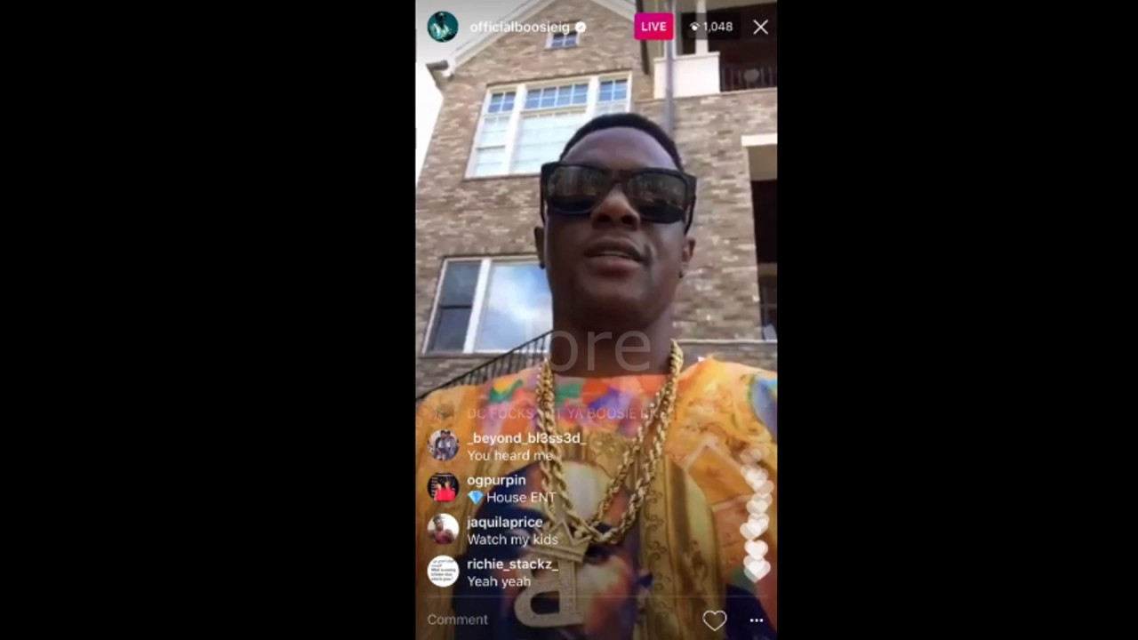Lil Boosie New Track Preview, T-Shirt with no panties on, house ...