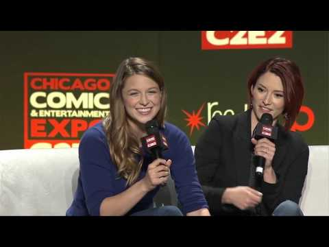Supergirl Panel - Melissa Benoist and Chyler Leigh