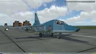 DCS World: Обучение Су-25Т Посадка - легко.