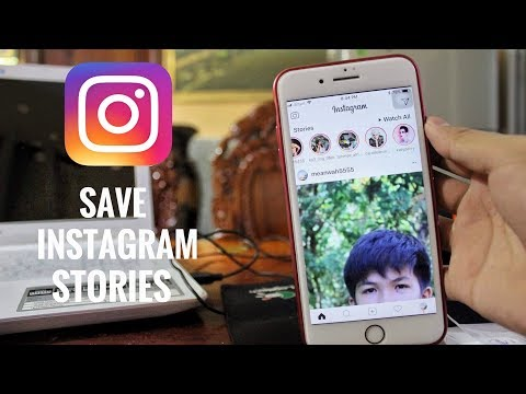 How To Save Instagram Stories On Andriod easy 2017