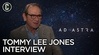 Tommy Lee Jones Interview Ad Astra