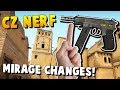 CS:GO UPDATE - CZ-75 FINALLY NERFED + MAJOR MIRAGE CHANGES!