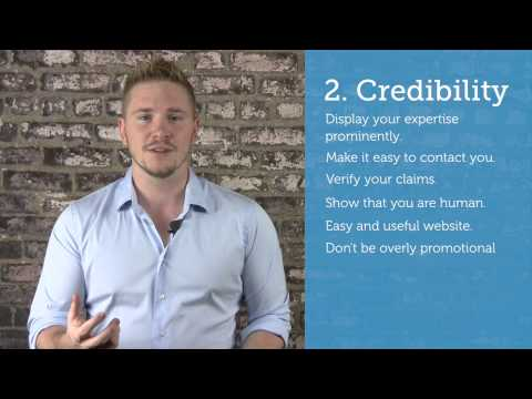 How to Build an Credible Consulting Website