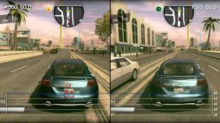 Driver San Francisco: PS3/Xbox 360 Frame-Rate Comparison