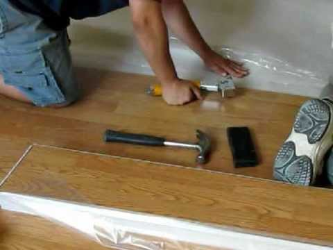 Tools For Laying Laminate Flooring Youtube