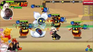 kingdom hearts unchained x october weekly coliseum climb part 1