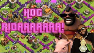 Clash of Clans | 3-star TH7 Attack Strategy Hog Rider Clan Wars Raids 2016
