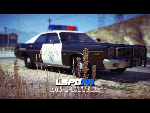 LSPDFR - Day 379 - 70's Haunted Patrol (Live Stream)