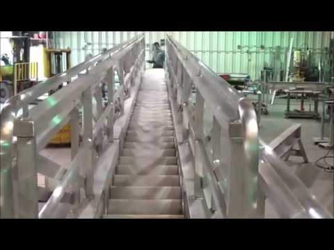 Telescopic Accommodation Ladder | Hydraulically Actuated Accommodation Ladder | Marine Gangways
