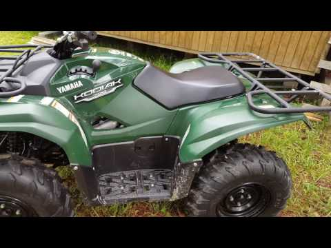 Walk around of my 2016 yamaha kodiak 700
