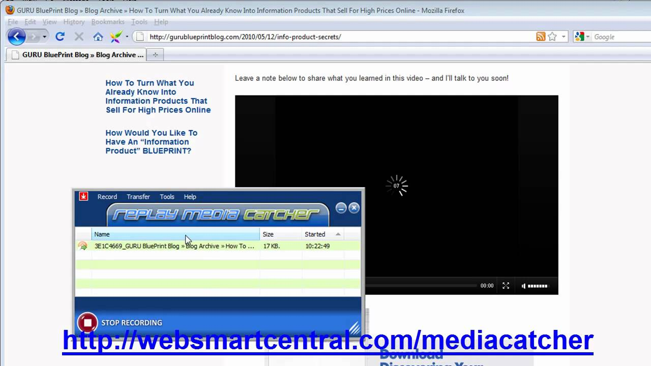 How to easily capture save and download streaming video content how to easily capture save and download streaming video content youtube malvernweather Gallery
