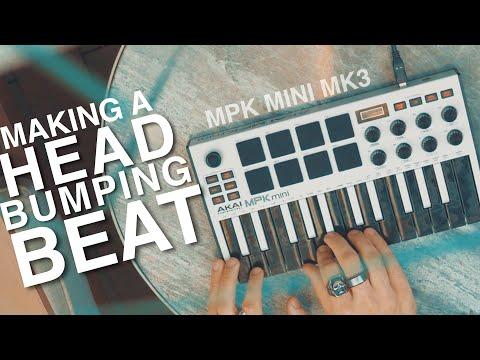 Making A Beat On The Akai MPK MINI MK3!