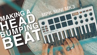 Making A Beat On The Akai MPK MINI MK3!