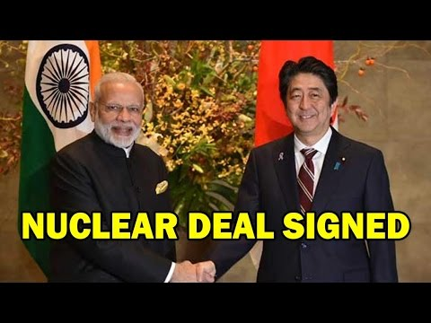 PM Modi And Japan PM Shinzo Abe SIGN Nuclear Deal - Full Joint Statement