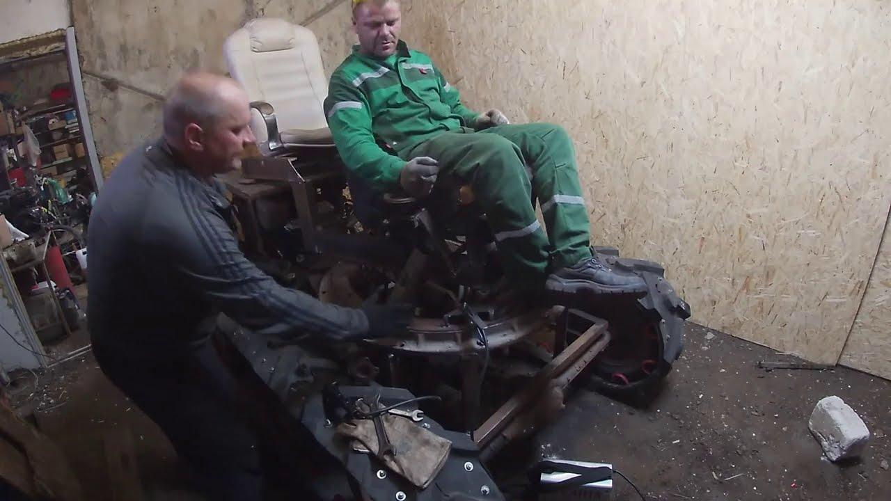 """""""ЧЕРМЕНАТОР"""" серия№2 минитрактор своими руками"""