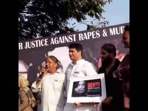 SHAKIL SIR PARTICIPATE IN SILENT PROTEST- INDIA UNITES FOR JUSTICE AGAINST RAPES & MURDERS.
