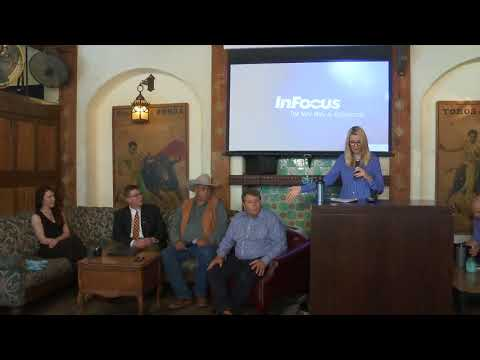 DNA Fund's Wyoming Blockchain Panel - June 2018 - moderated by shEOS Founder Pamela Day