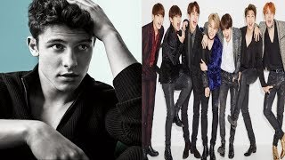 Shawn Mendez To Collaborate With BTS In A New Music | Pop & K-Pop