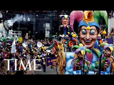 New Orleans Mardi Gras Parade & Celebrations 2017   TIME