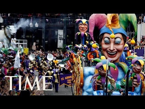 New Orleans Mardi Gras Parade & Celebrations 2017 | TIME