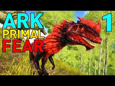 [1] Toxic Raptors and Apex Dilos!!! (Let's Play ARK Primal Fear Multiplayer)