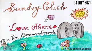 Greenford Baptist Church Sunday Club - 4 July 2021
