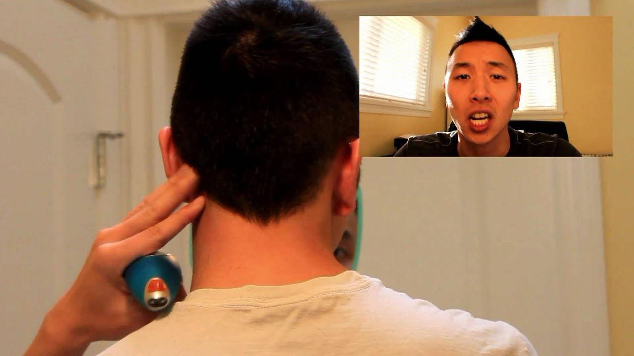 How To Shave Your NECK Hair   YouTube
