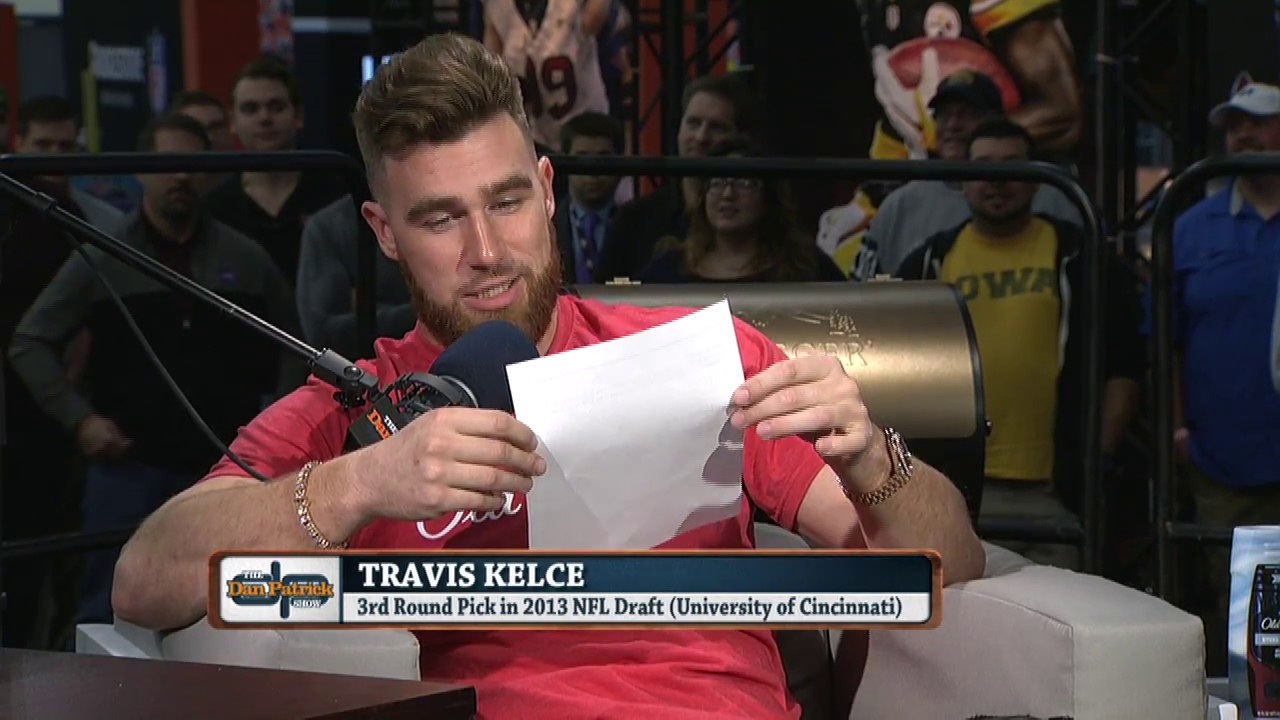 Travis Kelce Reads His Negative Draft Profile 1 31 17