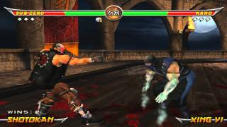 Mortal Kombat Armageddon Full HD gameplay on PCSX2