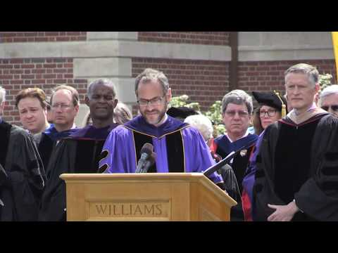 Williams Commencement 2017: Full Ceremony