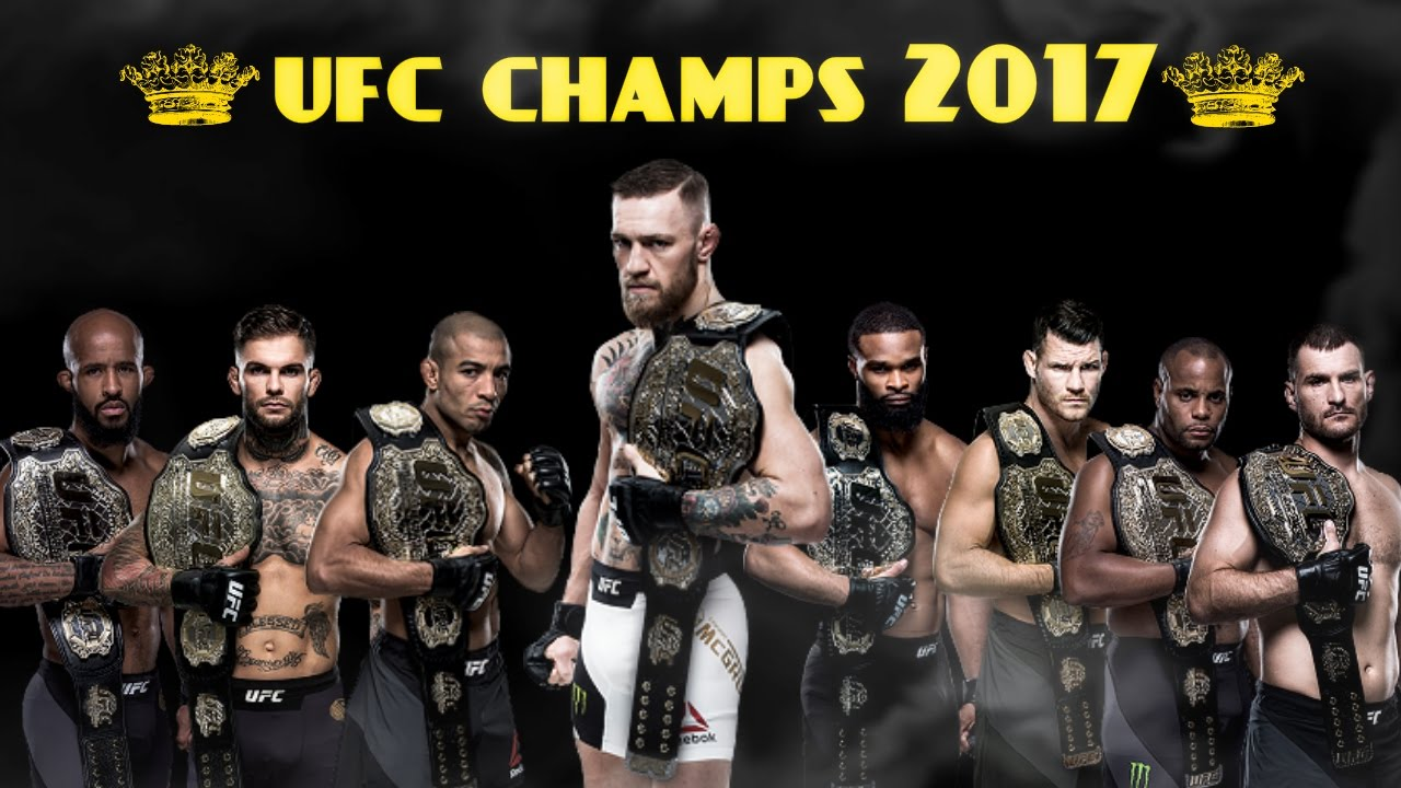 The UFC Champions Of Early 201...