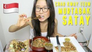 SINGAPOREAN MUKBANG ft. Char Kway Teow, Satay & Murtabak
