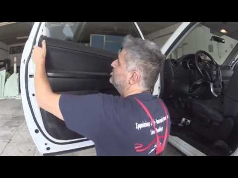 SUZUKI GRAND VITARA  Πως βγαζω ταπετσαρια πορτας Door Panel Removal