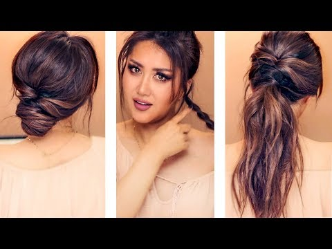 2-MIN EVERYDAY HAIRSTYLES FOR WORK & SCHOOL Girls