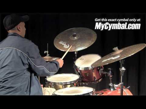 "Bosphorus 21"" Master Vintage Ride Cymbal (MV21R-1031210D) - Played by Ali Jackson"