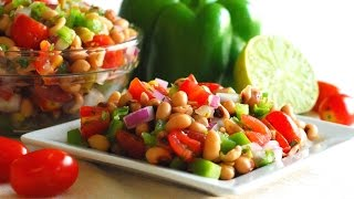 Black-eyed Pea Salad ~ Southern Favorite