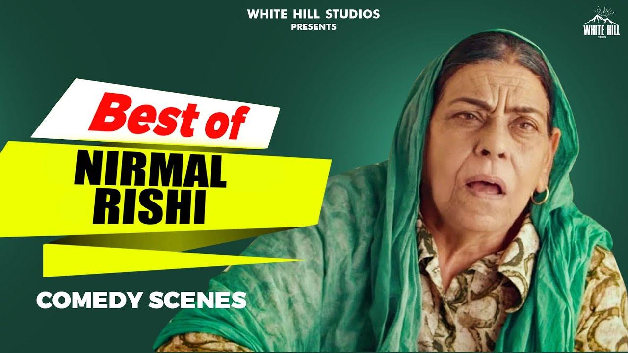 BEST OF NIRMAL RISHI : Punjabi Comedy Scenes | Comedy Videos 2021 | Punjabi Movies Scenes 2021