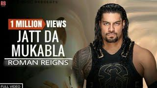 JATT DA MUQABLA - WWE ROMAN REIGNS || Dub Roast